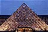 Pyramid, Louvre, Paris, France