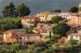 View of Roussillon, France