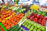France, Provence, Cannes, Produce market