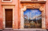 Painted Door in Roussillon, Provence, France
