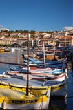 Colorful Sailboats in Provence, France