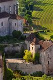 Saint-Cirq-Lapopie in the Lot Valley