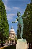 Bronze statue of Jardin du Luxembourg