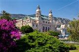 Gardens surround Monte Carlo Casino, Monaco