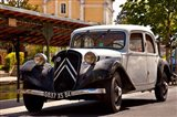 Classic Citroen Avante car, Provence, France