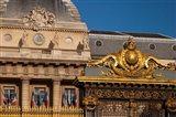 Gate to Palais de Justice, Paris, France