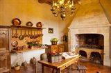 Kitchen at Chateau Villandry near Tours, France