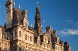 Ornate Hotel de Ville, Paris, France
