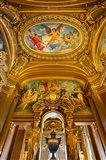 Grand Foyer in Palais Garnier Opera House