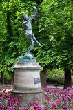 Bronze statue 'Faune Dansant'