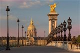 Dawn Along The Ornate Pont Alexandre III, Paris, France