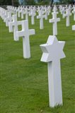 France, Normandy, WWII cemetery