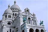 Sacred Heart Cathedral in Montmartre, Paris