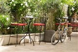 Southern France, St Remy Sidewalk Cafes