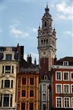 Lille Architecture and Bell Tower