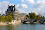 Pont Royal and the Louvre Museum