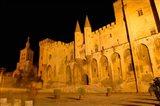 Papal Palace at Night, Avignon