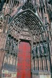 Cathedral Entrance, Strasbourg, France
