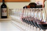 Wine Glasses Ready for Tasting