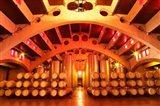 Wine Cellar at Raimat, Costers del Segre, Catalonia, Catalunya, Spain