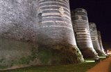Chateau d'Angers Castle at Night