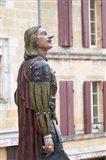 Statue of Cyrano de Bergerac, Dordogne, France