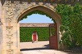 Arched Portico, Chateau de Pressac, France