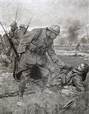 World War I, Battle of Champagne, France