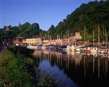 Dinan and River Rance, Cotes-d'armor, France