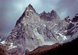 France, Chamonix, Aiguilles du Midi, Spires
