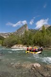 Rafting on Verdon River,  Provence, France