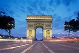 Arc de Triomphe From Champs Elysees, Paris, France