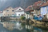 Doubs River Valley, Canal Town, France
