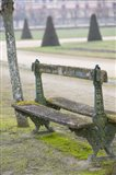Park Bench in the Gardens, Chateau de Fontainebleau