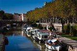 Canal de la Robine by the Cours Mirabeau