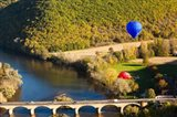 Hot Air Balloon, Chateau de Castelnaud