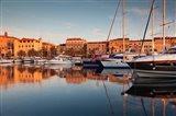 Corsica, France Marina at Sunset