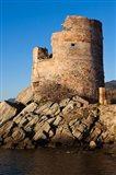 Genoese Tower at Dawn, Erbalunga