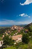 La Balagne, Speloncato Town View