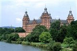 Johannisburg Palace by Rhine River
