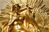 Golden Statuary, Commerz Bank in Leipzig