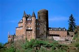 Castle, Rhine River, Germany