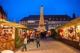 Christmas Market at Twilight, Germany