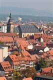 Skyline of Bamberg, Germany