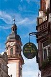 The Hauptstrasse, Heidelberg, Germany
