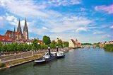 Old Town Skyline, Regensburg, Germany
