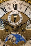 Germany, Furtwangen, Detail Of 19th Century Antique Clock Face