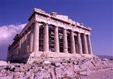 The Parthenon on the Acropolis, Ancient Greek Architecture, Athens, Greece