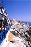 View from Cliffs, Santorini, Greece
