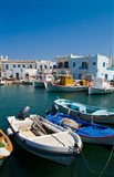 Fishing Boats in Naoussa, Paros, Greece